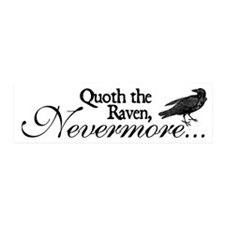 Raven Nevermore 20x6 Wall Peel