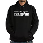 2010 Fantasy Football Champion Hoodie (dark)