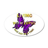 Lupus Awareness 20x12 Oval Wall Peel
