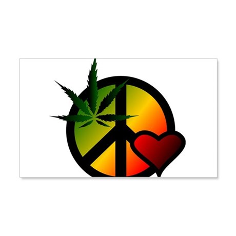 Peace 20x12 Wall Peel