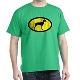 German Pinscher Black T-Shirt