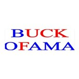 Buck Ofama 36x11 Wall Peel
