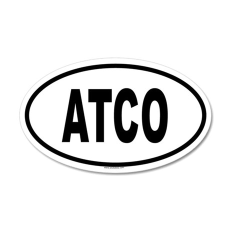 ATCO 20x12 Oval Wall Peel