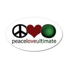 Ultimate Love - 35x21 Oval Wall Peel