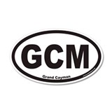 Grand Cayman GCM Euro 20x12 Oval Wall Peel