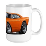 1970 Roadrunner Orange-Black Car Mug