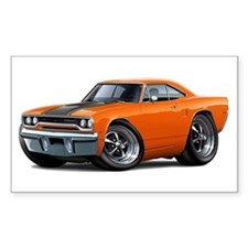 1970 Roadrunner Orange-Black Car Decal