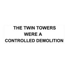Twin Towers Controlled Demolition 20x6 Wall Peel