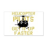 Helicopter Pilots Get It Up F 20x12 Wall Peel