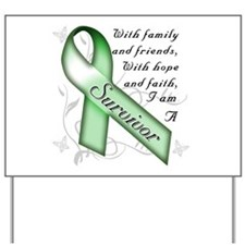 Kidney Cancer Survivor Yard Sign