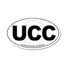 UCC United Church of Christ Euro 20x12 Oval Wall P