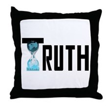 Truth Wikileaks Throw Pillow