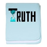 Truth Wikileaks baby blanket