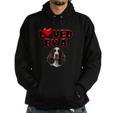 Loved by a Springer Spaniel Hoodie