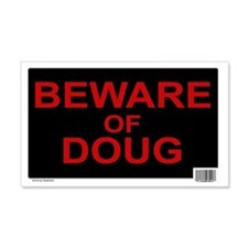 Beware of Doug (Rectangle)