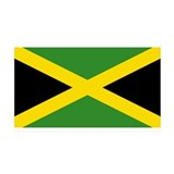 Jamaica Flag 35x21 Wall Peel