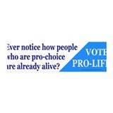 Pro-Life 36x11 Wall Peel