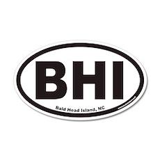 Bald Head Island BHI Euro 20x12 Oval Wall Peel