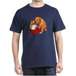 Toller Puppy Christmas Dark T-Shirt