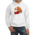 Toller Puppy Christmas Hooded Sweatshirt