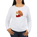 Toller Puppy Christmas Women's Long Sleeve T-Shirt