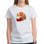 Toller Puppy Christmas Women's T-Shirt