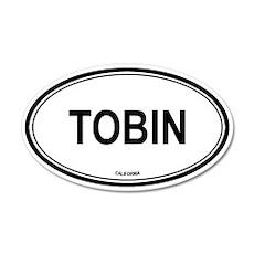 Tobin oval 35x21 Oval Wall Peel