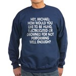 Hey, Michael Sweatshirt (dark)