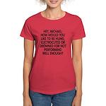 Hey, Michael Women's Dark T-Shirt
