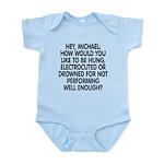 Hey, Michael Infant Bodysuit