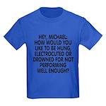 Hey, Michael Kids Dark T-Shirt
