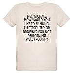 Hey, Michael Organic Kids T-Shirt