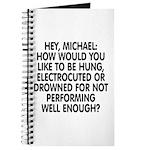 Hey, Michael Journal