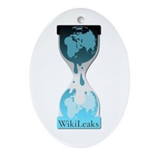 Wikileaks Ornament (Oval)