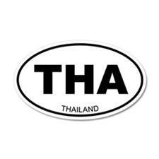 Thailand 20x12 Oval Wall Peel