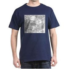 Ancient Athens Map T-Shirt