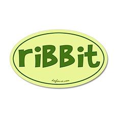 Ribbit 20x12 Oval Wall Peel