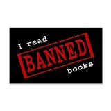 Banned Books 20x12 Wall Peel