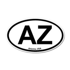Arizona 35x21 Oval Wall Peel