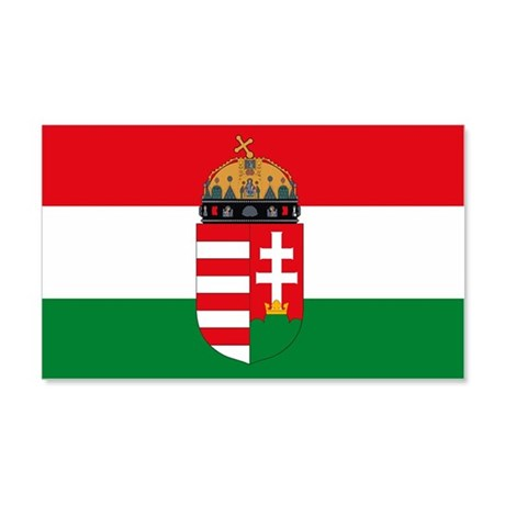 Hungary Flag Sticker