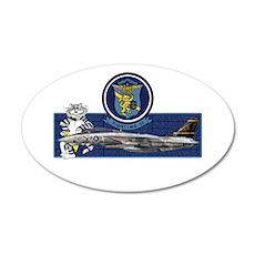 VF-32 Swordsmen 20x12 Oval Wall Peel
