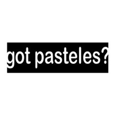got pasteles? 36x11 Wall Peel