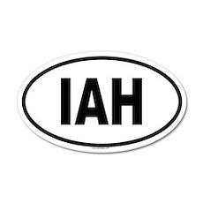 IAH 35x21 Oval Wall Peel