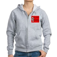 Go Jesus! It's Your Birthday! Zip Hoodie