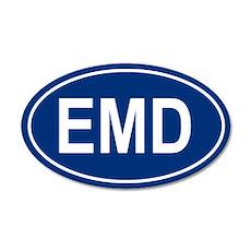 EMD 20x12 Oval Wall Peel