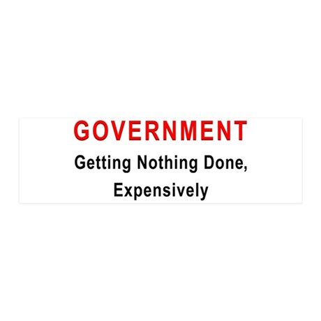 Expensive Government 36x11 Wall Peel