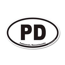 Padanaram Massachusetts PD Euro 20x12 Oval Wall Pe
