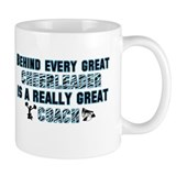 Great Cheer Coach - Blue Zebr Mug