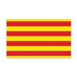 Catalonia Flag 20x12 Wall Peel