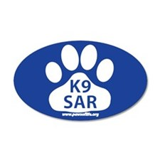 K9 SAR Sticker